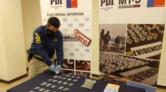 *PDI EFECTÚA PROCEDIMIENTOS POR DROGAS EN SANTA CRUZ Y SAN VICENTE DE TAGUA TAGUA*